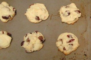 Receta de galletas con arándanos