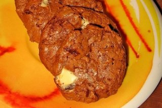 Receta de galletas con chocolate blanco