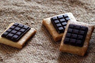 Receta de galletas con chocolatina