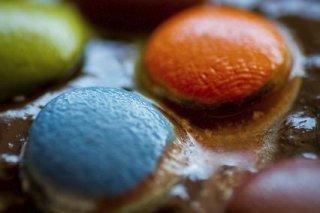 Receta de galletas con colorines