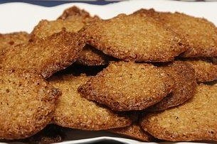 Receta de galletas de avena light