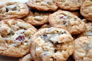 Receta de galletas de avena y arándanos