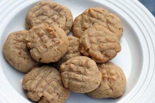 Receta de galletas de cacahuetes