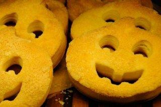 Receta de galletas de calabaza para halloween