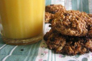 Receta de galletas de cereales
