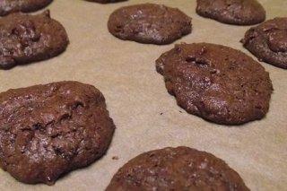 Receta de galletas de chocolate sin horno
