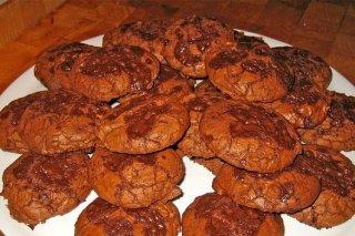 Receta de galletas de chocolate sin huevo
