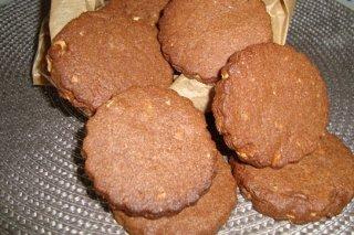 Receta de galletas de chocolate y avellanas de isa57