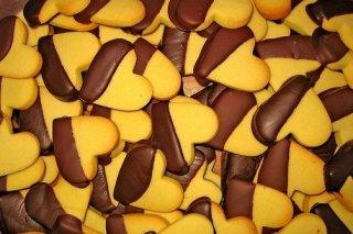 Receta de galletas de mantequilla y chocolate