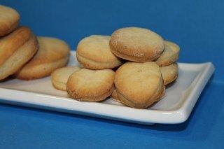 Receta de galletas de nata