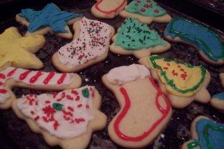 Receta de galletas de navidad para niños