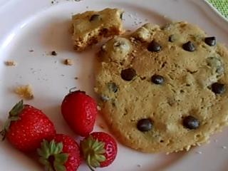 Receta de galletas en microondas