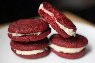 Receta de galletas red velvet
