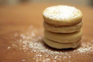 Receta de galletas rellenas de dulce de leche