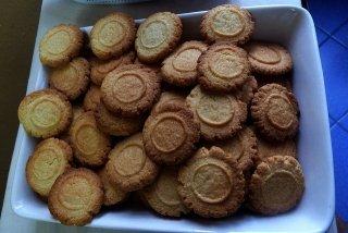 Receta de galletas tostadas