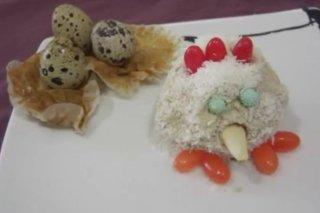 Receta de gallinas de magdalena