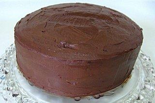 Receta de ganache de chocolate para cubrir tortas