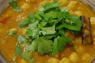 Receta de garbanzos con curry