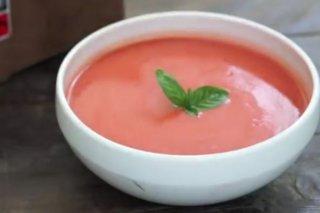 Receta de gazpacho con cerezas