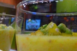 Receta de gazpacho de tomate amarillo