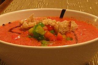 Receta de gazpacho suave