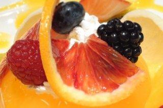 Receta de gelatinas de frutas con yogur