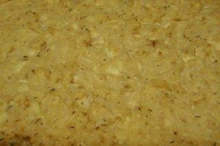 Receta de gratinado de patatas y manzana con queso azul