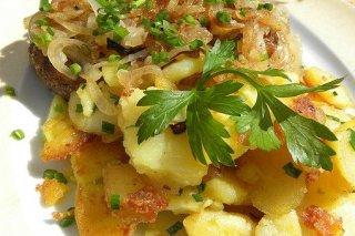 Receta de guarnición de patatas