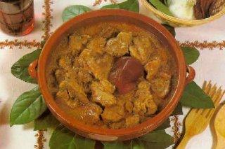 Receta de guiso de carne con olivas