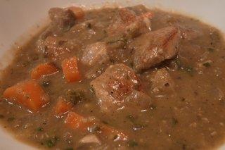 Receta de guiso de cerdo y zanahoria