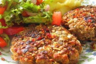 Receta de hamburguesa de pavo