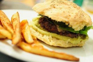 Receta de hamburguesa de pollo light