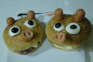 Receta de hamburguesas cerdito