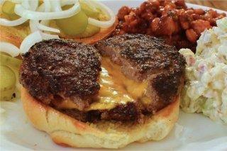 Receta de hamburguesas rellenas