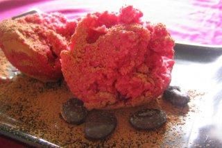 Receta de helado de fresa casero