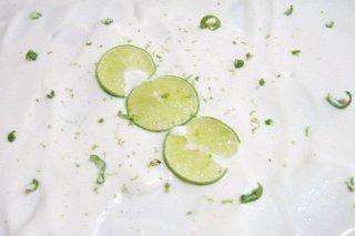 Receta de helado de limón con ron