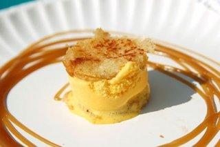 Receta de helado de queso con miel