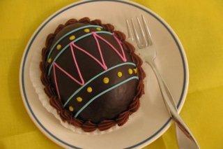 Receta de huevo de chocolate