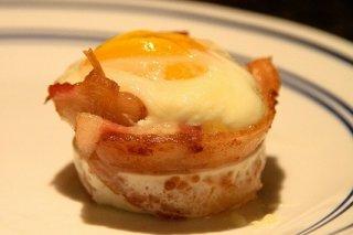 Receta de huevos al nido