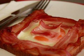 Receta de huevos con bacon al horno