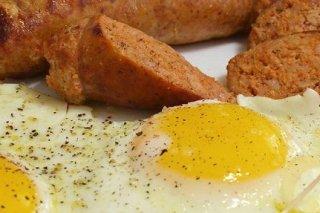 Receta de huevos con chorizo
