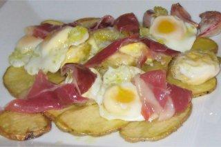 Receta De Huevos De Codorniz Con Jamón