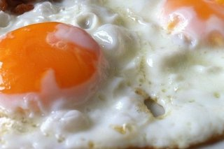 Receta de huevos fritos con miel