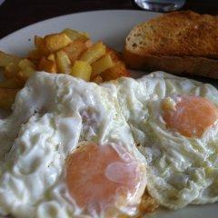 Receta de huevos fritos con patatas