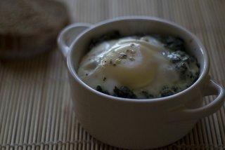 Receta de huevos horneados