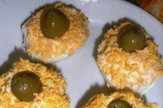 Receta de huevos rellenos de anchoas