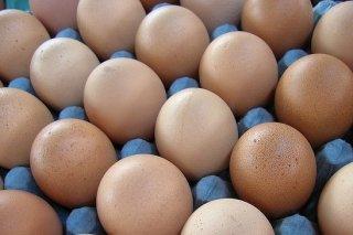 Receta de huevos rellenos rebozados