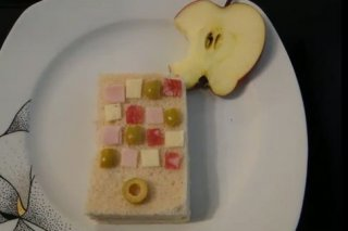 Receta de iphone comestible