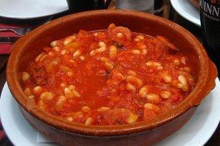 Ingredientes para judias con chorizo - Judias con chorizo y patatas ...