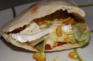 Receta de kebab de pollo casero